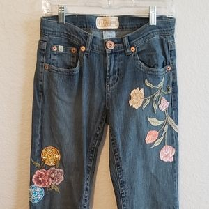 Z Cavaricci Vintage Embroidery Jeans